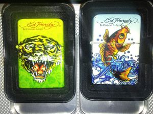 Ed hardy zippos for Sale in North Las Vegas, NV