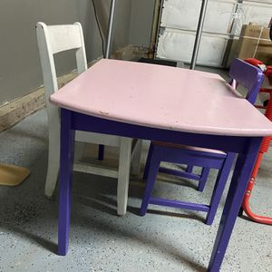 Kids Table With Chairs for Sale in Simpsonville, SC