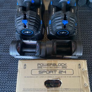 Adjustable Dumbbells 2-25, 5-55lbs for Sale in Fresno, CA