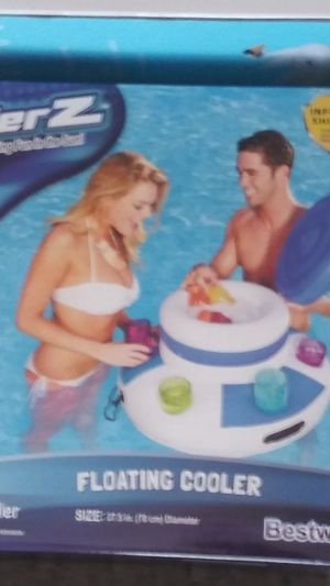 New Never Opened. Pool Cooler, Large Floats, Floating Cup Holders for Sale in Cincinnati, OH