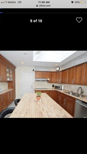 Full kitchen cabinets/ countertops/ appliances/ island for Sale in Hicksville, NY