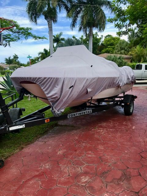2014 continental trailer like new plus 1999 seadoo challenger 1800