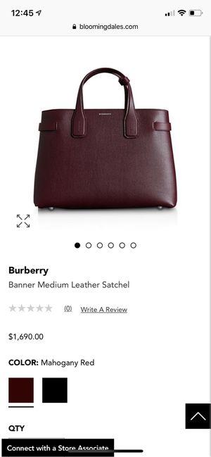 Burberry medium banner bag for Sale in Falls Church, VA