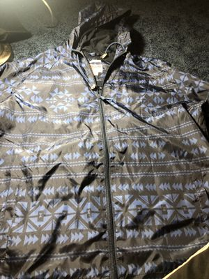 Mens rain coat Large light rain jacket for Sale in Alexandria, VA
