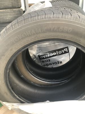 Two tires 205/55R16 Yokohama YK580. Still good. for Sale in Avondale, AZ
