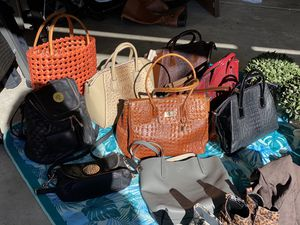 Assorted Handbags and a Backpack for Sale in Mill Creek, WA