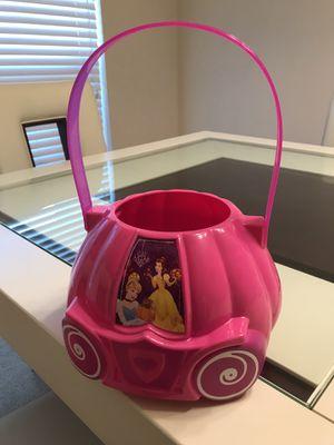 Disney Princess Candy Bucket for Sale in Katy, TX
