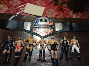 WWE figures for Sale in Grand Prairie, TX