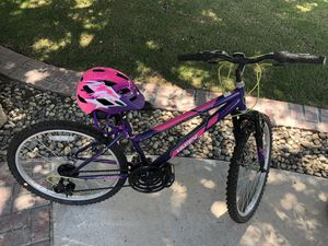 Huffy Girls Bike and Helmet for Sale in Redwood City, CA