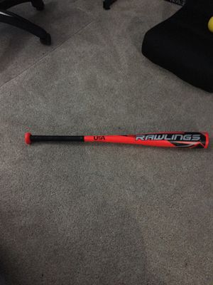 Rawlings Flel 28 inches 20 ounces USA baseball bat very good condition no grip will be happy to make offers or lower price for Sale in Joliet, IL