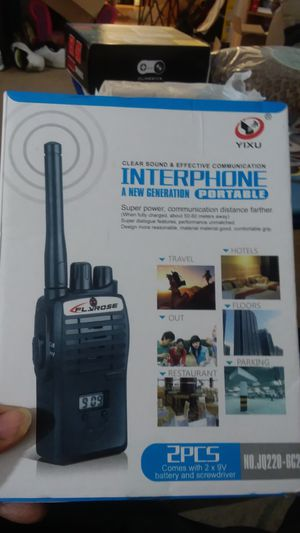 Interphone super power communication for Sale in Duluth, MN