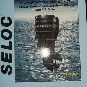 Seloc Mercury Outboard Repair Manual 1965-89 for Sale in Gilbert, AZ
