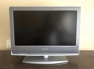 "Used Sony Bravia gray tv Tv is 25"" diagonally **** No remote control for Sale in Fort Pierce, FL"
