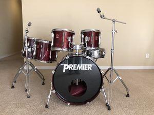 PREMIER - 6 Piece Drum Set w/ hardware for Sale in Bellevue, WA