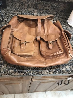 Leave her backpack. It took me many places and is now very soft and worn in for Sale in Delray Beach, FL
