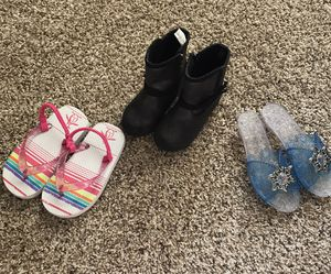 Toddler girl shoes for Sale in Colorado Springs, CO