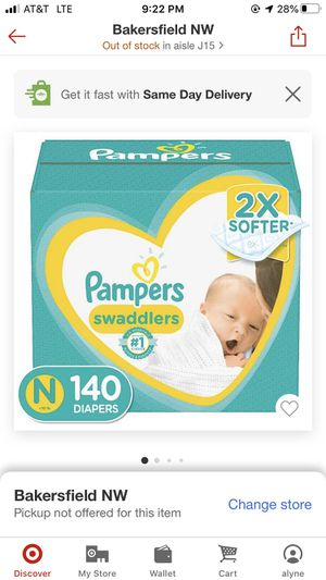 Pampers for Sale in Shafter, CA