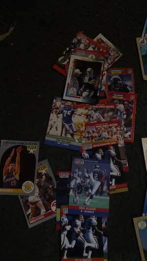 Old baseball football and basket ball cards over hundred for Sale in San Antonio, TX