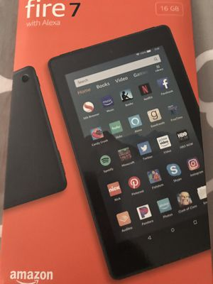 Fire 7 with Alexa amazon tablet for Sale in Miami, FL