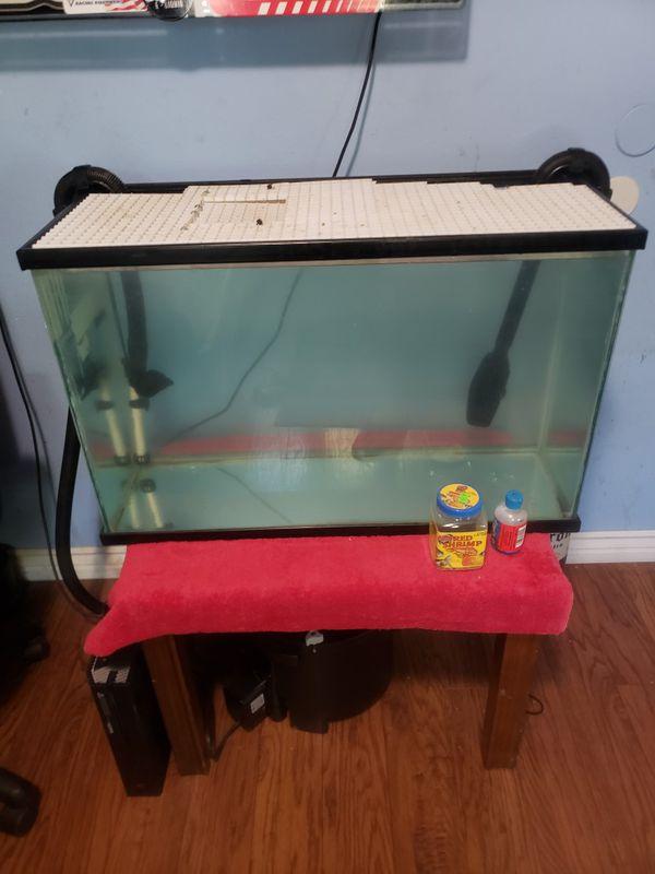 30 gal Fish Tank w/ FX4 Filter