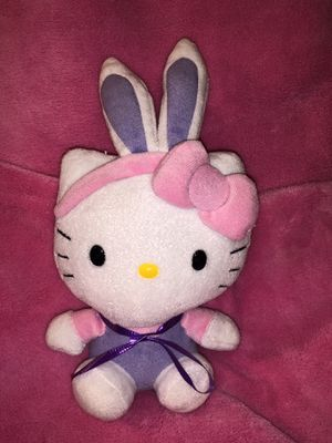 Hello Kitty Bunny Plush Doll purple pants and pink bow 🥳 $5 sale! for Sale in Phoenix, AZ