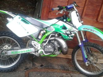96' Kawasaki KX250 DIRT BIKE With Clean OR Title To for Sale in Beavercreek,  OR