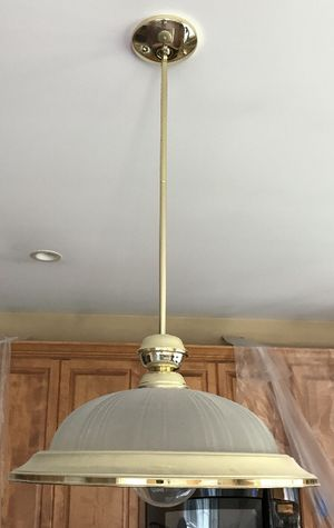 Brass Pendant Kitchen Fixture for Sale in Middlebury, CT