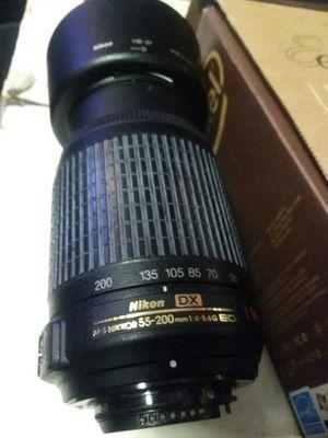 Nikon camera lens for Sale in Savannah, GA