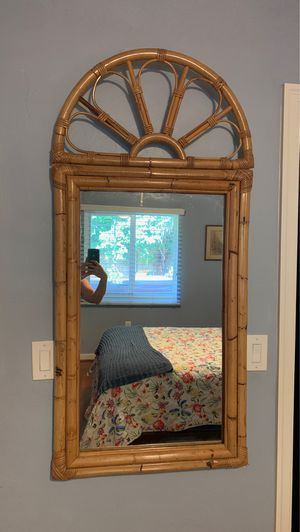 Bamboo mirror for Sale in Lake Worth, FL