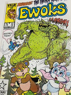 1987 STAR COMICS EWOKS #12 Beware: The Thorn Monster Marvel March 12 for Sale in Waco,  TX