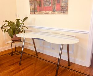 Ikea Galant frosted glass desk for Sale in Chicago, IL