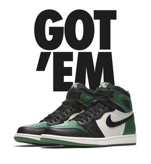 Pine Green Jordan 1 Dead stock sz 12 for Sale in Washington, DC
