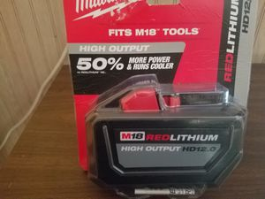 Milwaukee 12.0 cordless M18 power tool battery for Sale in Humble, TX