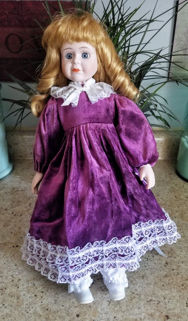 Porcelin Doll. Like June's Online Consignment Shop on Facebook