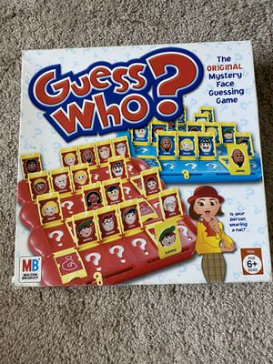 Guess who? Game board kids for Sale in Stockton, CA