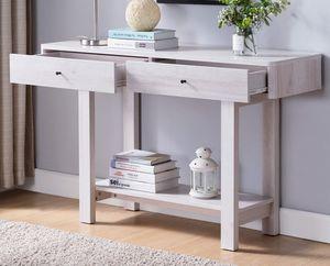 NEW, Console Table, White Oak for Sale in Huntington Beach, CA
