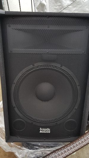 Acoustic Audio Professional DJ Speakers for Sale in Hayward, CA