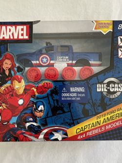 Captain America DIE-CAST Model Kit for Sale in San Jose,  CA