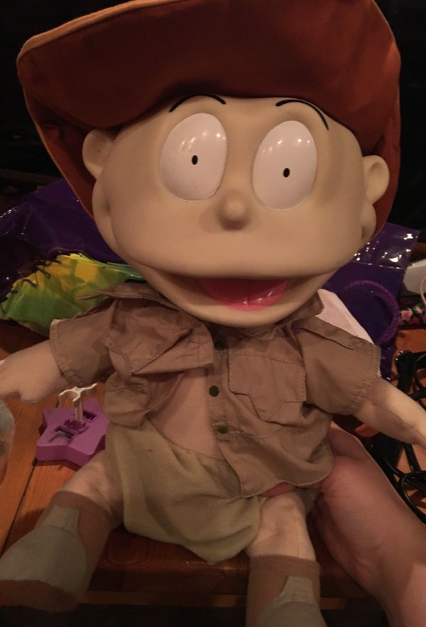 Talking rugrat Tommy doll