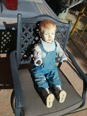 Antique doll, 1880s, straw filled for Sale in Santa Rosa, CA