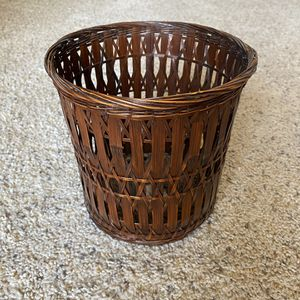 ‼️Dark Wicker Basket‼️ for Sale in Edgar, WI