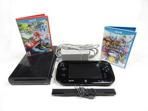 Nintendo Wii U Bundle Mario Kart Super Smash Video Games for Sale in Phoenix, AZ