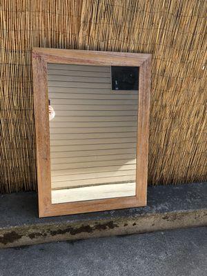30x42 wooden mirror for Sale in Wenatchee, WA