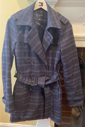 Woman's Banana Republic medium, blue/green fall dress coat for Sale in Falls Church, VA