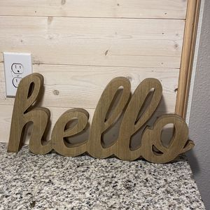 Hello Wall Decor for Sale in St. Cloud, FL
