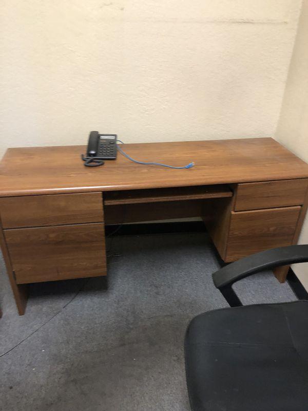 Set of desks