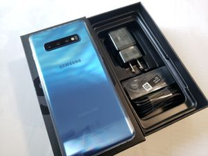 Samsung Galaxy S10+ Plus , Unlocked for All Company Carrier,  Excellent Condition like New for Sale in Springfield, VA