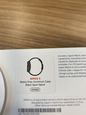 Apple Watch Series 5 44MM with GPS + Cellular for Sale in Alexandria, VA