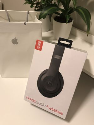 Beats Studio 3 Headphones Wireless Matte Black for Sale in Boston, MA