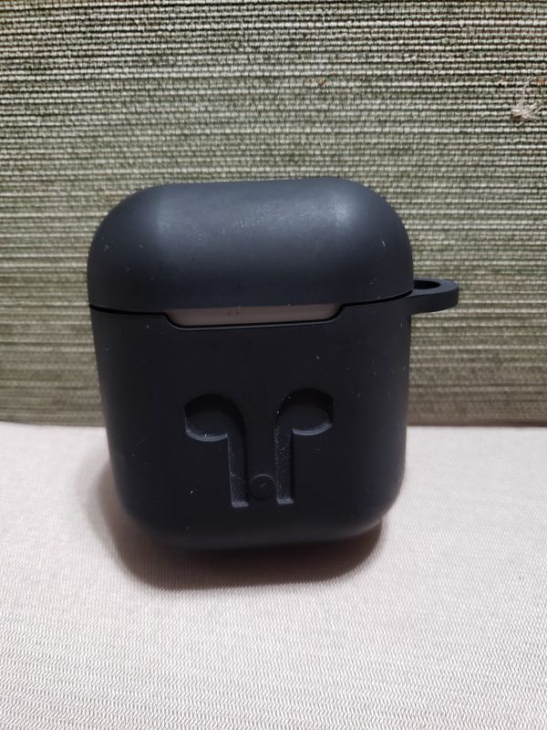Apple AirPods 1st generation with charger and silicone case